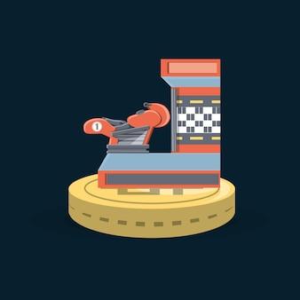 Zręcznościowa gra motocyklowa