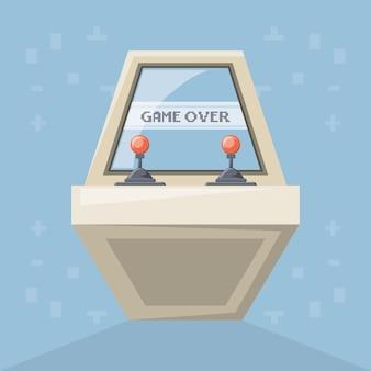 Zręcznościowa gra wideo z joystickami