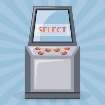 Zręcznościowa gra wideo z przyciskami