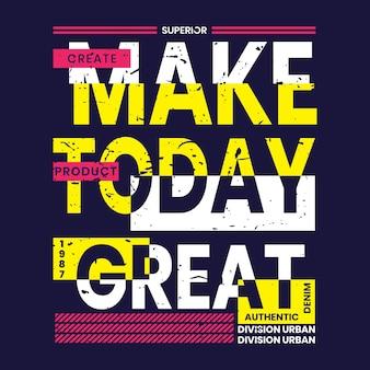 Zrób dziś wspaniały projekt koszulki