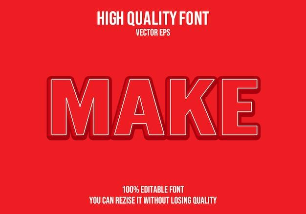 Zrób efekt edycji tekstu