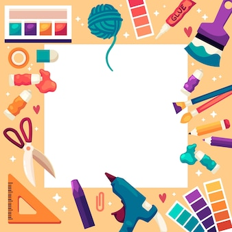 Zrób to sam kreatywna przestrzeń warsztatowa
