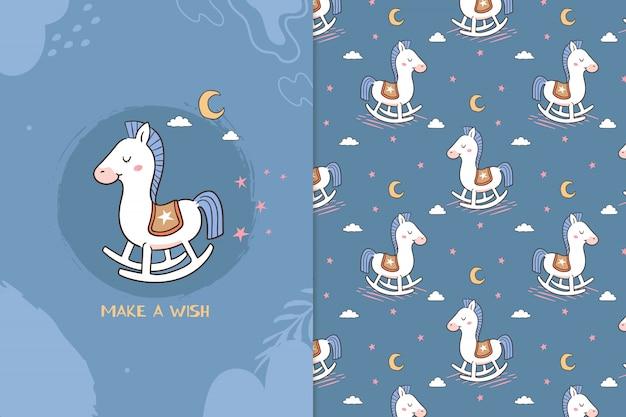 Zrób wzór konia życzeń