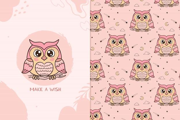 Zrób wzór sowy życzeń