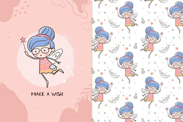 Zrób wzór wróżki życzeń