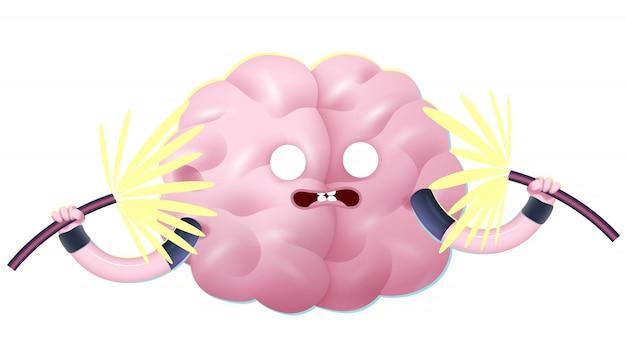 Zszokowany, trenuj swój mózg.