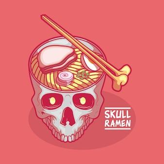 Zupa z czaszki ramen