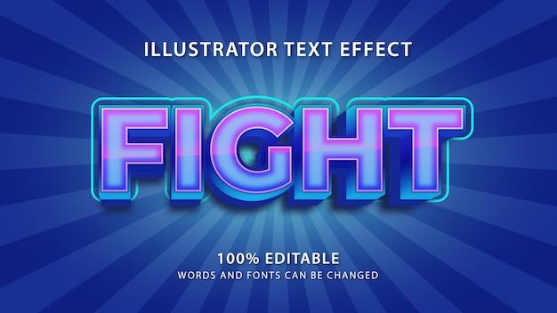 Zwalcz efekt stylu tekstu, edytowalny tekst