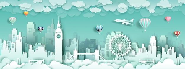 Zwiedzaj słynne zabytki w londyńskiej anglii