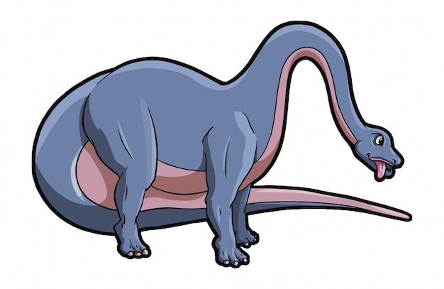 Zwierzę brontozaura