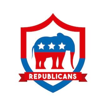 Zwierzę z republikańskiej partii politycznej