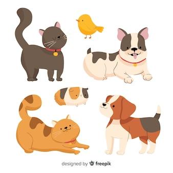 Zwierzęta domowe do wnętrz