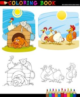 Zwierzęta gospodarskie i towarzyszące do barwienia