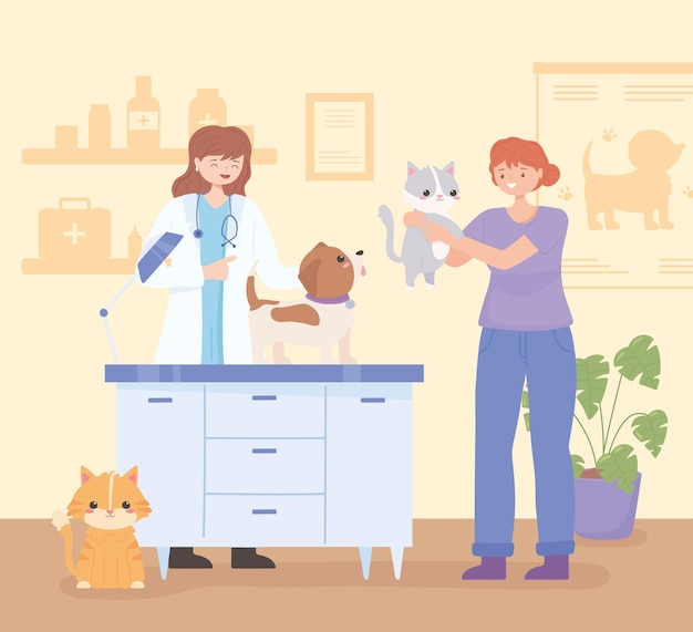 Zwierzęta lekarz weterynarii