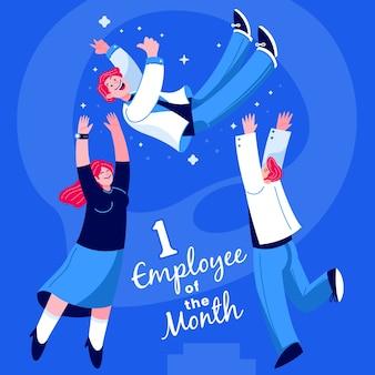 Zwycięzca pracownika miesiąca