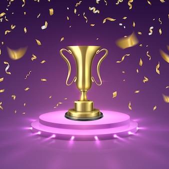Zwycięzca zawodów biznesowych lub sportowych