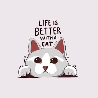 Życie lepiej z kotem