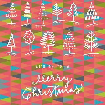 Życząc ci wesołych świąt wyciągnąć rękę kartkę z życzeniami