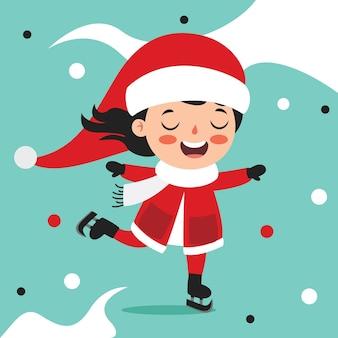 Życzenia bożonarodzeniowe z postaciami z kreskówek