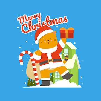 Życzenia świąteczne dla miłośników kotów