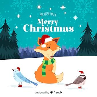 Życzenia świąteczne dla zwierząt