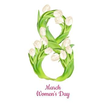 Życzenie ósmego marca z okazji dnia kobiet