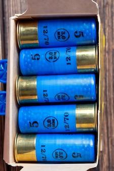 12 amunicji kalibru w pudełku