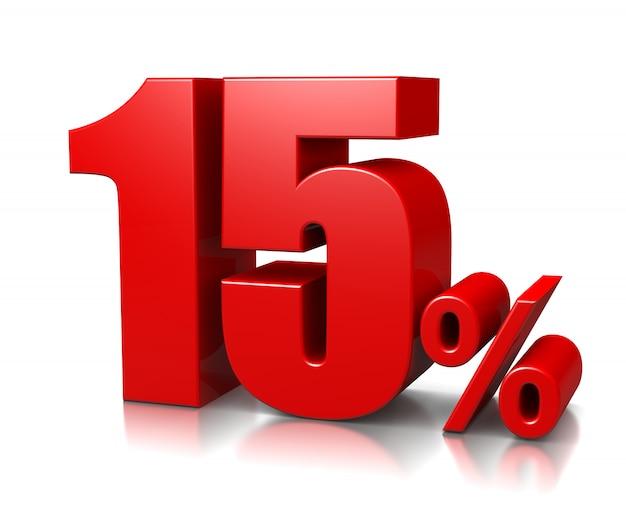 15 procent