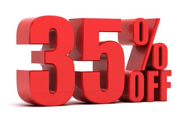 35 procent zniżki