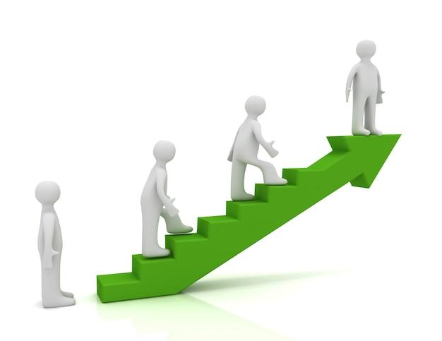 3d drabina do koncepcji sukcesu