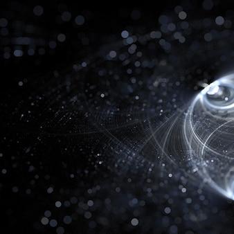 3d kształt skorupy cząstek tapety