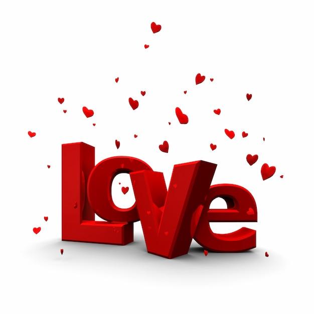 3d model miłości