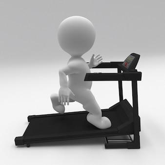 3d morph man ćwiczenia na bieżni
