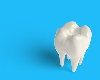 3d odpłacają się czystego ząb, dobieranie, przycina część