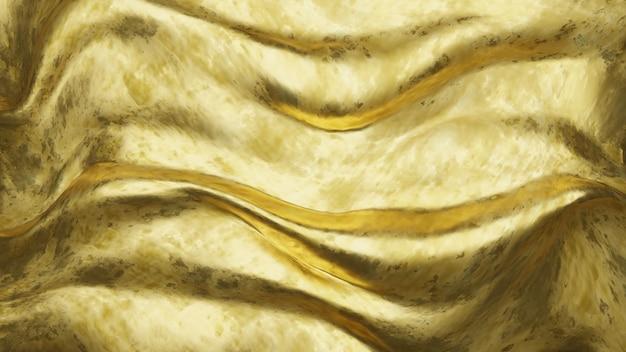 3d realistyczna złota żonata tekstura dla tło produktu