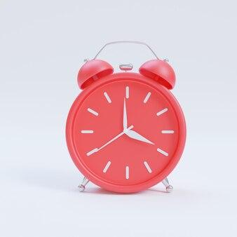 3d render minimalistyczny budzik