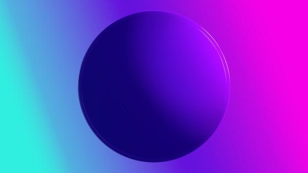 3d render wolumetryczne tło gradientowe