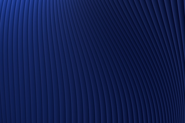 3d rendering, abstrakt ściany fala architektury błękitny luksusowy tło, błękitny luksusowy tło dla prezentaci, portfolio, strona internetowa