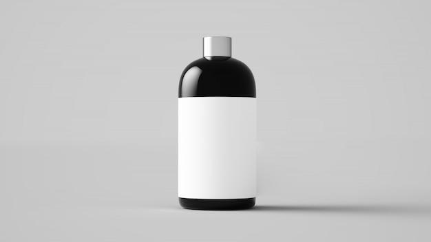3d rendering kosmetycznego produktu makieta
