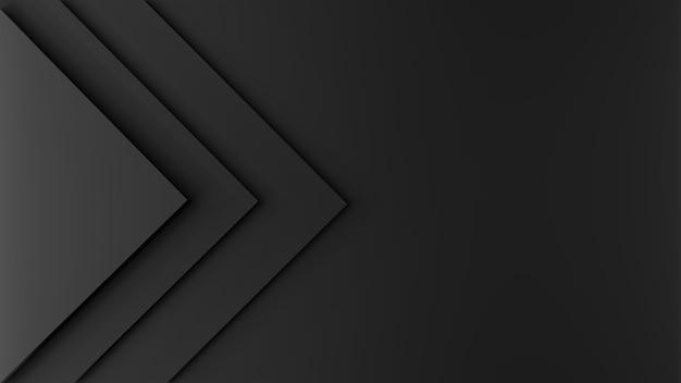 3d renderowane tekstury kwadratowych kształtów na różnych wysokościach