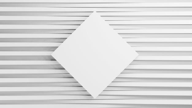 3d renderowane tekstury o kwadratowym kształcie na różnych wysokościach