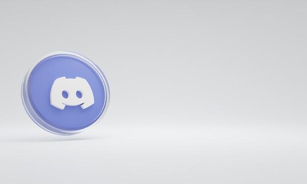 3d renderowania ilustracja ikona logo szkło niezgody