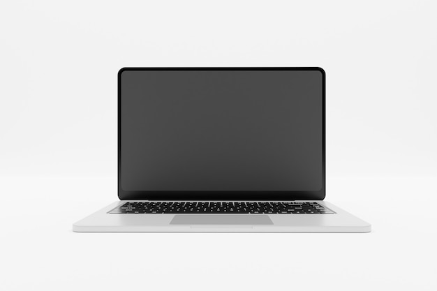 3d renderowania laptopa makiety