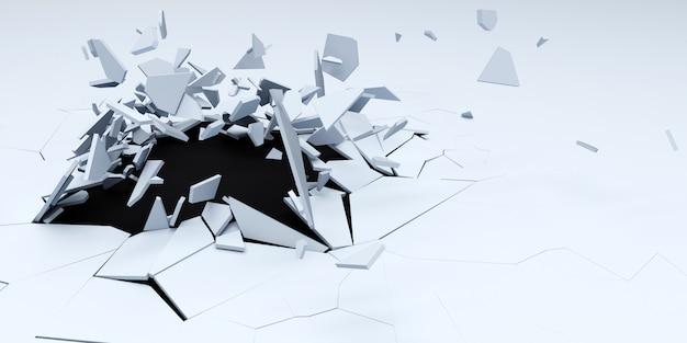 3d shatter streszczenie tapeta tło