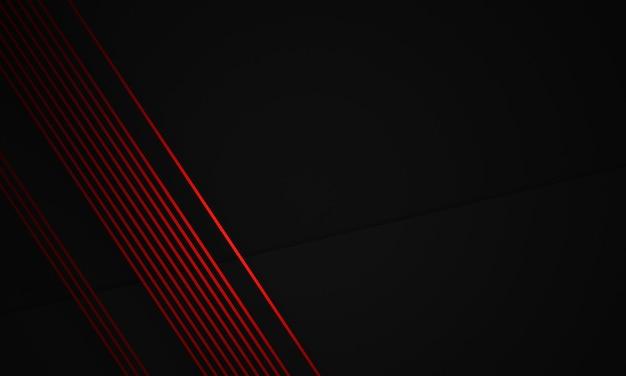 3d świadczonych streszczenie czerwone i czarne tło pozbawione.