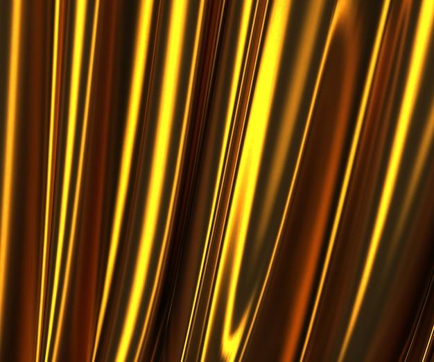 3d wizerunek złocista tkaniny tekstura