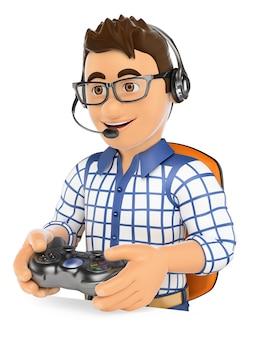 3d young gamer gra online na konsoli