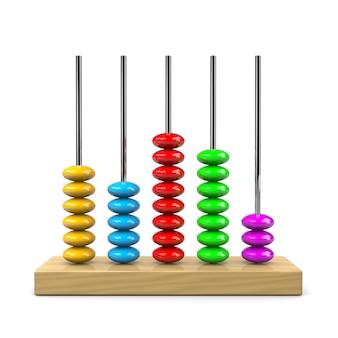 Abacus 3d ilustracji