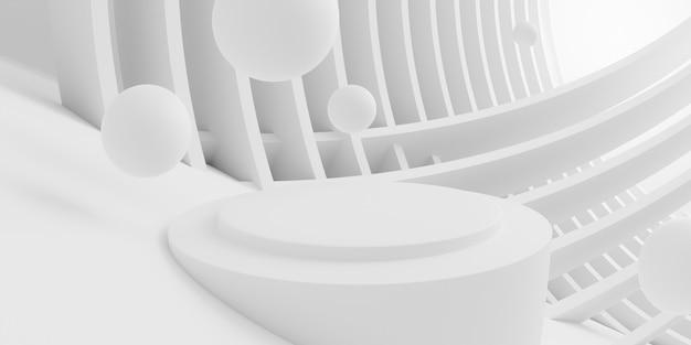 Abstact białe tło ilustracja