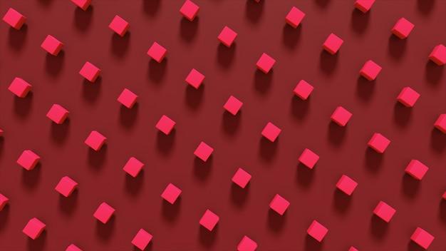 Abstrakcjonistyczna 3d ilustracja geometryczni kształty